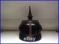 Casque à pointe, spike helmet, pickelhaube, Mod 15 Officer Wurtemberg