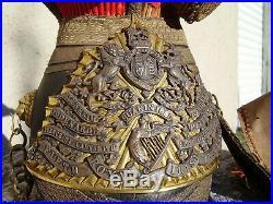 Casque schapska de lancier 100% jus / 5th royal irish lancers chapska