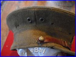 Casquette Off GB Artillerie Mle 1916 Date 1917