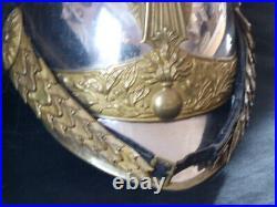 Cavalerie Dragon Officier casque 1874