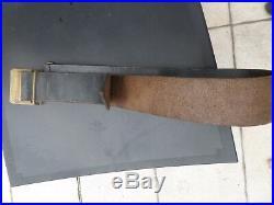 Ceinturon à plaque modèle 1845 de troupe Pioupiou 14/18