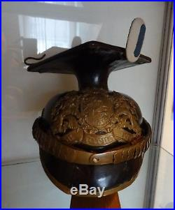 Chapska de Uhlan bavarois 14-18 Ulanen casque à pointe Pickelhaube helmet