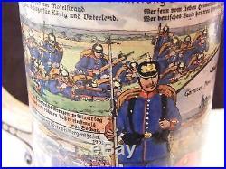 Chope de Réserviste Garnison de Metz Zeppelin 1909 8 ème régiment d'Infanterie