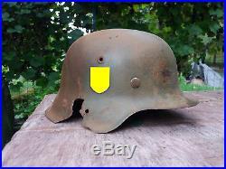 Coque casque allemand M42 taille 66 WXX WW2