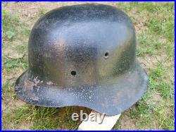 Coque de casque allemand Stahlhelm WW2 Modele 42