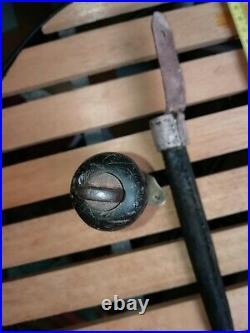 Couteau 1833 marine tranchée WW1 fourreau reconstitué
