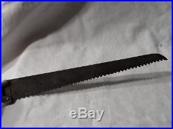 Couteau Scie De Poilu Pionnier Allemand Ww1 Drgm Ttb Knife Deutsches Messer