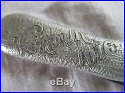 Couteau de poche en forme de botte du poilu Verdun 1916 Octavie ancien