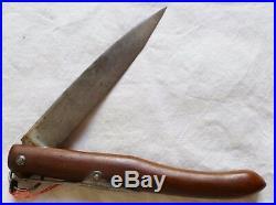 Couteau pliant Poilu WWI 1914/1918 style navaja ORIGINAL FRENCH TRENCH KNIVE