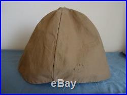 Couvre casque réglementaire authentique 22 ème Rgt. Infanterie coloniale 14-18