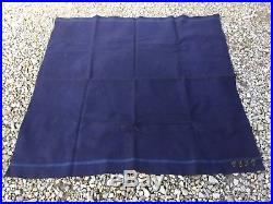Couvre-pieds couverture française poilu datée 1891