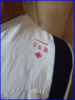 Croix Rouge Infirmiere Hopital Moulins N°8 1917 UNIFORME Diplome Médaille