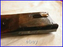 Crosse Planchette Originale Pour Etui Pistolet Mauser Luger P08 Artillerie Ww1