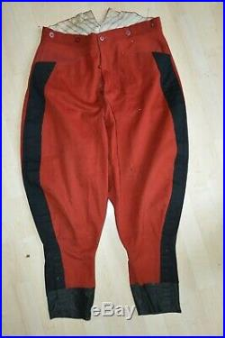 Culotte Officier 5° Cuirassier-cavalerie 1914-french Cavalry Trousers 1°ww