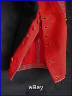 Culotte de Cavalerie garance basanée bande noire officier Dragon cuirassier