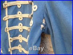 DOLMAN Cavalerie Hussards WWI 1914-1918 daté 1883 cachets ORIGINAL à restaurer