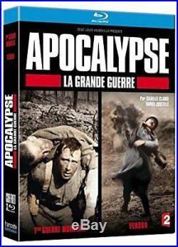 DVD COFFRET APOCALYPSE 1ERE GUERRE MONDIALE + GUERRE de 14-18 + VERDUN