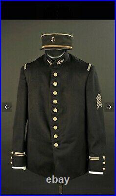 Ensemble Adjudant Infanterie Coloniale RIC France 1914/18