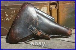 Etui / Holster de pistolet P08 allemand Luger