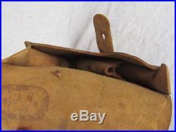 Étui Réglementaire Ww1 De Pistolet Ruby Cuir Fauve Fr 1918