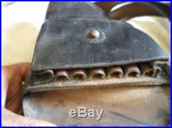 Etui revolver 1873 1892 holster poilu ww1 militaria 14 18 jambon daté marquages
