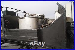 Exceptionnelle cuisine roulante hippomobile modèle 1911 infanterie-fahrküchen