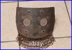 Face protection MG 08/15 German Machine Guns helm helmet ww1 casque stirnpanzer