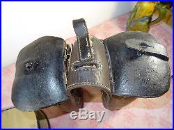 Fonte et couvre fonte 1895 gendarmerie à cheval accessoire selle militaria S/off