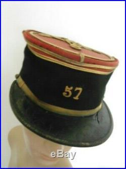 France 14-18 Authentique Kepi Lieutenant 57° Ri / Voir Autres Ventes
