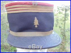 France 14-18 Kepi Capitaine Infanterie Grenade Legion Etrangere