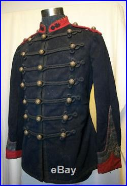 France Troupes De Marine Dolman Troupe Artillerie De Marine 1872