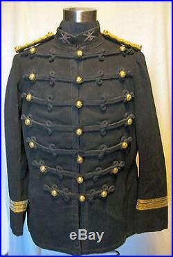France Troupes De Marine Rare Dolman Officier Artillerie De Marine 1883