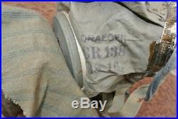 GUMMIMASQUE M16 taille 2 avec nombreux marquages