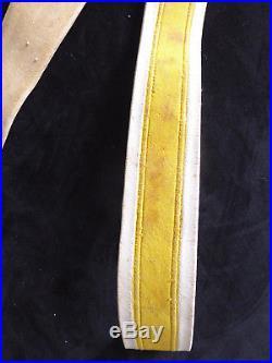 Gendarmerie Giberne banderole buffle banc Napoleon III Empire