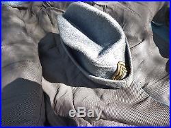 Infanterie Bleu Horizon Uniforme Capitaine 71é R I veste culotte képi casque