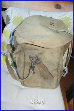 Intéressante sacoche pour chargeurs chauchat 1917, pour Armée Us, 1GM