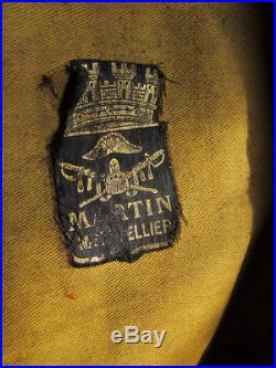KEPI FOULARD 1900-1914 de Mal des Logis du 14e ESCADRON DU TRAIN DES EQUIPAGES