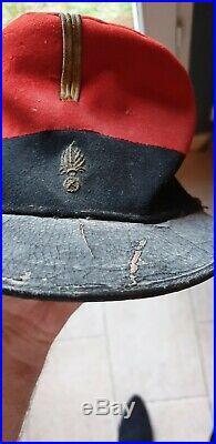 Kepi 1884 Legion Etrangere Sous Officier Authentique Dans Son Jus 14-18