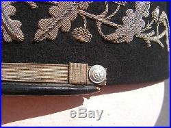 Képi COMMISSAIRE PREFET GENERAL DE POLICE WW2