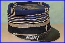 Kepi D'officier De Gendarmerie Mod. 1885-3° Republique-grande Guerre 1914/1918