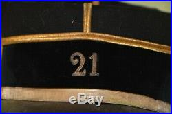 Kepi M. 1886 Adjudant 21° Bataillon De Chasseur A Pied-french Kepy Foot Hunter