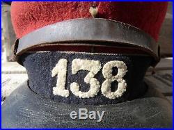 Képi Mle 1884 138éme Territorial 14-18 WW1 grande taille