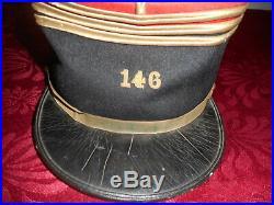 Kepi Off Fr Mle 1918 Du 146 Rgt D Infanterie