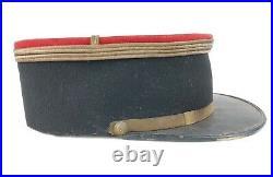 Képi Polo Lieutenant Poilu Ww1 LeMans 117 ème RI Regiment Infanterie