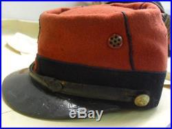 Kepi Rouge Modele 1884 Troupe N°22 Regiment Infantereie 1°guerre