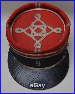 Képi de capitaine du 9ème cuirassiers nominatif