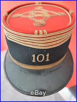 Képi de colonel du 101e RI, 1914
