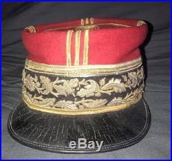 Kepi de général de division modele 1892, cavalerie