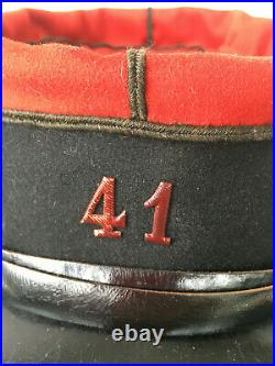 Képi de soldat rengagé 41ème régiment d'infanterie RENNES WW1