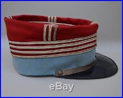 Képi foulard nominatif de chef descadron du 5ème hussard 1895